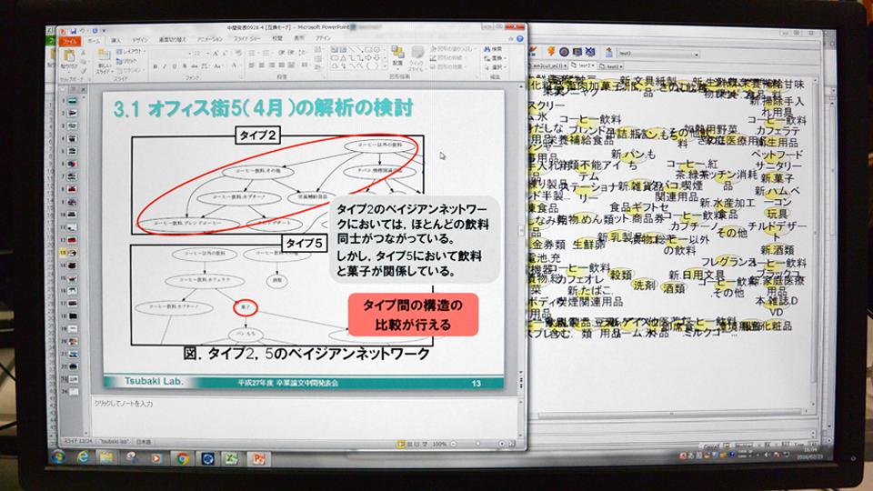 確率的な因果関係の構造をベイジアンネットワークで分析する